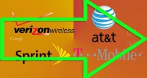 AT&T vs Verizon vs T-Mobile vs Sprint (2013) – Network Wars 2 – Phone Wars 13