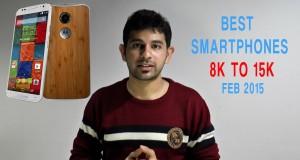 Best Mid-Range Smartphones in Feb 2015 | Rs.8,000 – Rs.15,000 |