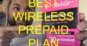 Best Prepaid Wireless (with 5GB 4G) Plan – TMobile – $30!