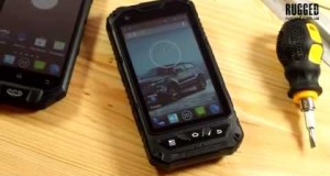 best shockproof waterproof mobile phone with gps leeline L18   RUGGED smartphone