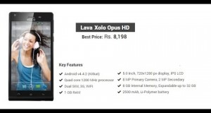 Lava Mobile Phone Price list and Key Features in India