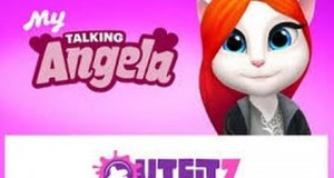 My Talking Angela Windows Mobile Phone GamePlay