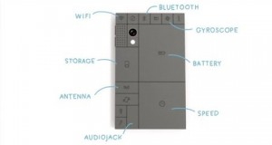 Phonebloks Mobile Phone Blocks A phone worth keeping Eco friendly mobile handset. Concept Smartphone