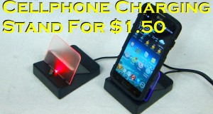 $1.50 Mobile Phone Stand that Charges and Sync