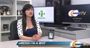 Newegg-TV-i18-Tech-White-Wall-Mounted-Charger-and-iPad-Dock-Station-Product-Tour