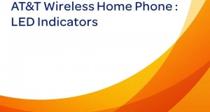 AT&T Wireless Home Phone: LED Indicators