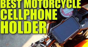 Best Motorcycle Cell Phone Holder!