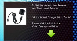 Buy Motorola USB Wall Charger with Micro USB Data Cable – Bulk Packaging (Black New in 2014