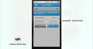 Buying Prepaid Electricity | Cellphone Banking App | Capitec Bank