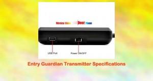 Bw Entry Guardian Wireless Video Door Phone Cmos Sensor
