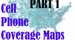 cell phone coverage maps – Part 1