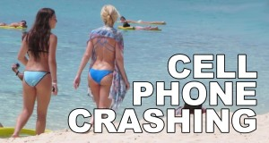 CELL PHONE CRASHING at the CAYMAN ISLANDS!