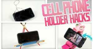 Cell Phone Holder Hacks – Do It, Gurl