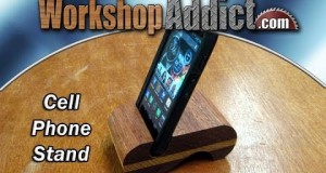 Cell Phone / IPod Stand Project