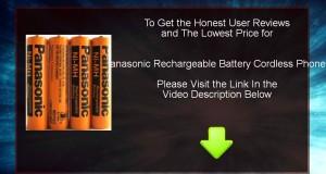 Cheap Panasonic Rechargeable Battery Cordless Phones