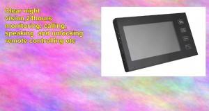 Cibest 7 Color Lcd 2.4g Wireless Video Door Phone Doorbell