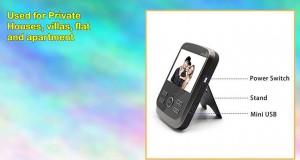 Elecs New Arrival 3.5 Lcd 2.4g Wireless Video Door Phone