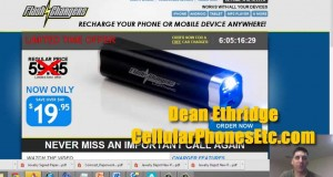 Flash Charger Portable USB Charger Review – Good Cell Phone Accessory?