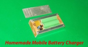 Free Energy Generator Homemade Mobile Battery Charger Smartphone USB Power Bank Pack Cell Phone