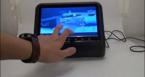 G0307 Headrest play same video and use IR wireless phone