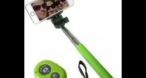 Gadget Hero's Selfie Monopod + Wireless Remote & Phone Clamp For Android iPhone & iPod Touch