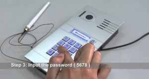 GBF Wireless Video Door Phone On Amazon How to set the user password on outdoor station