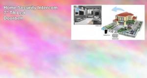 Generic Wireless 7 Video Door Phone Intercom Doorbell Home Security