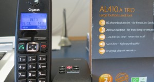 Gigaset AL410A cordless phones review – cheap cordless phones