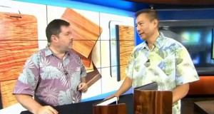 Hawaii News Now: Martin & MacArthur unveils new koa mobile accessories