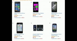 Here are Best Sellers in No Contract Cell Phones and smart phones