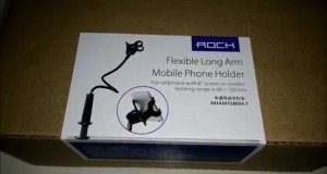 [Hindi] Rock Flexible Mobile Phone Holder Review.