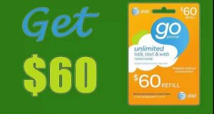 How to Get AT&T Go Phone refill gift card $60 [100% working] +Proof