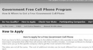 How-To Qualify For Safelink Free Wireless Cell Phone Service