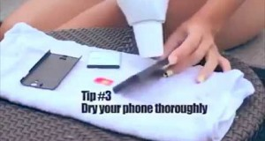 How To Save a Wet Mobile Phone ?
