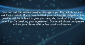 How-To Unlock A Cell Phone For Any Service Provider
