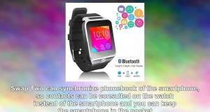 Indigi 2in1 Interconvertible Gsm Wireless Bluetooth Smart Watch Phone w