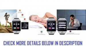 Indigi Innovative SWAP Gear Bluetooth Smartwatch Wireless Phone For All iPhone and Galaxy SmartPhone