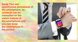 Indigi Swap2 Gsm Wireless Bluetooth Smart Watch Phone Camera Unlocked