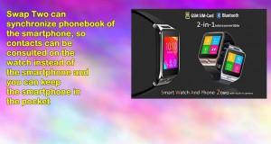 Indigi Unlocked Gsm Multimedia Wireless Bluetooth Smartwatch Phone Mp3 Spy