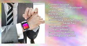 Indigi Unlocked Gsm Wireless Bluetooth Smartwatch Phone Builtin Camera Micro