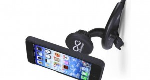 InfiniApps Slyde CD Slot Mount for Smartphones, Cradle less Universal cell phone holder with Quick s