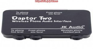 JK Audio Daptor 2 (DAP2) Wireless Phone Audio Interface for … Reviews