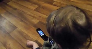 Kids Playing With Cell Phones
