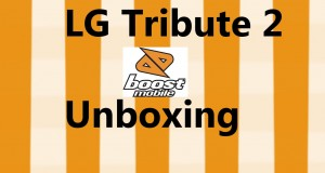 Lg Tribute 2 4G  Unboxing Boost Mobile Cell Phone
