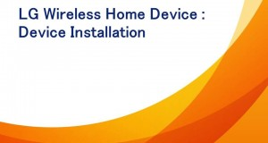 LG Wireless Home Phone : Device Installation