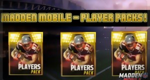 Madden Mobile – Player Packs!