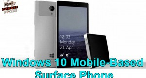 Microsoft's Windows 10 Mobile-Based Surface Phone Spotted