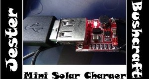 Mini Solar Charger Project – Powering A Mobile Phone