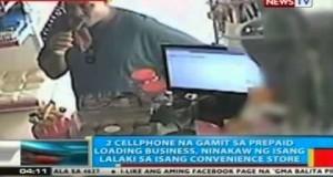 Pagnanakaw sa 2 cellphone na gamit sa prepaid loading business sa Bacolod City, na-hulicam