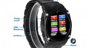 Reviews Excelvan – Watch Cell Phone Black for Samsung HTC Smart Android Phone